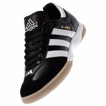 Tenis Adidas Samba Millennium Suela Indoor Black & White Gym