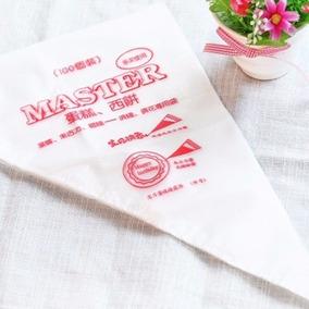 Manga Pastelera Desechable 100 Piezas Repostería Pastelería