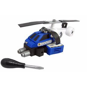Helicóptero Policial Pequeno Engenheiro Garagem S.a. Candide