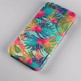 Capinha Case Celular Iphone 5 6 7 Plus Estampas Folhas 0022