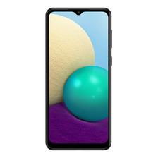 Celular Samsung Galaxy A02 Black 3 Gb Ram 32 Gb Rom