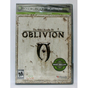 The Elder Scrolls Iv Oblivion Xbox 360 Lacrado Mídia Física