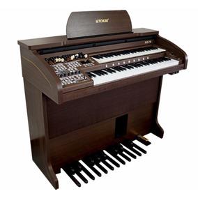 Órgão Eletrônico Tokai Md 750 Nota Garantia De 1 Ano