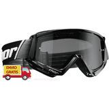 Goggles Thor Combat Negros Gogles Moto Googles Proteccion Uv
