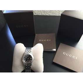 Reloj De Lujo Gucci Original Para Mujer Mod 5500m