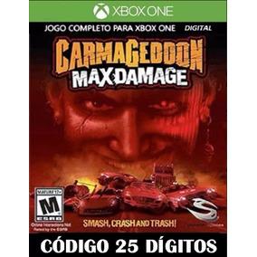 Carmageddon Max Damage Código 25 Digitos Xbox One