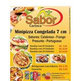 Mini Pizza Congelada 20 Unidades 7cm Cada