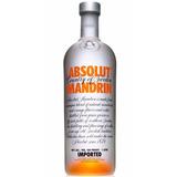 Vodka Absolut Sabor Mandrin Tangerina 1 Lt Original Lacrado
