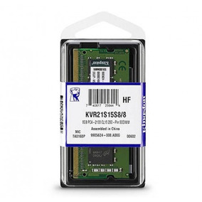 Memória Kingston 8gb 1.2v Ddr4 2133mhz Notebook Kvr21s15s8/8