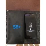 Samsung S8 Plus Na Caixa Com Todos Os Acessórios Top