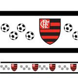 Adesivo Decorativo Faixa Flamengo