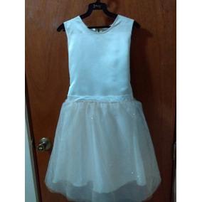 Vestido Color Ivory Confirmacion ,graduacion Primaria T10-12