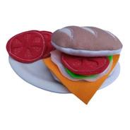 Comidita De Tela Sandwich De Pebete Completo