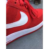 Tennis Zapatillas Nike Air Force Originales Rojos Talla 9.5