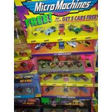 Micromachine Brinquedo Antigo Carros Anos 80 / 90