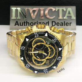 756bb71fe96 Relogio Invicta Serie Ouro Reserve - Relógios no Mercado Livre Brasil