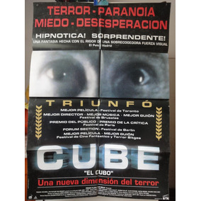 Poster Cube El Cubo Nicole De Boer David Hewlett Maurice Dea