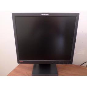 Monitor Lcd 17 Pulgadas Marca Lenovo Usado