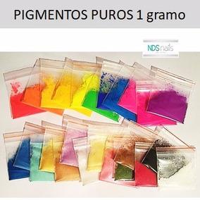 Pigmento Puro Para Hacer Polvo Acrilico De Colores 1g