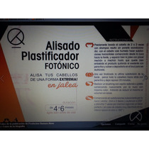 Alisado Plastificador Fotonico+botox+reeconstructor T X 5lts