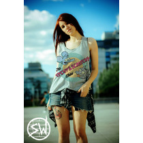 Musculosa Tomy Y Daly Simpsons Unica! Skate Tattoo