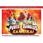 Kit Imprimible Power Rangers Samurai Candy Bar Tarjetas