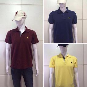 Kit Presente Masculino Camisa Polo E Boné