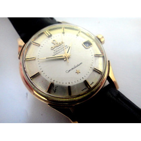 d9240830ab3 Relógio Omega Constellation Pie Pan Ouro Maciço 18k 0