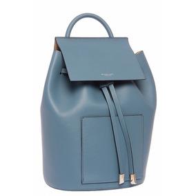 Michael Kors Backpack Collection Azul Mk Original Mochila