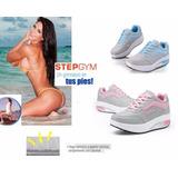 Tenis Step Fitness Fashion Importados Gym Stile Adelgazar