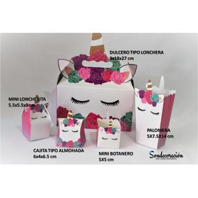 Set Unicornio Party, 5 Hermosas Piezas, Fiesta, Cumpleaños.