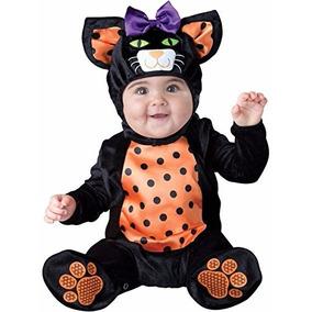 Disfraz Bebe Gatita Traje Niña Gata Halloween