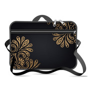 Funda Maletin Notebook 15 15.6 Con Bolsillo Neoprene Diseño