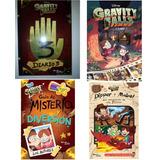 Diario 3 Gravity Falls + Cómic 1 + Dipper + Guía De Misterio