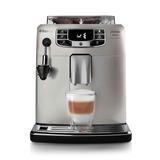 Cafetera Espresso Saeco Hd8904/01 Intelia Deluxe Plateado