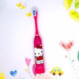 Escova De Dente Elétrica Infantil Criança Menina Hello Kitty