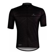 Camisa Ciclismo Mauro Ribeiro Range Preto Cinza Mtb