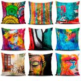 Tres (3) Cojines Decorativos Tayrona Store Con Envio Gratis