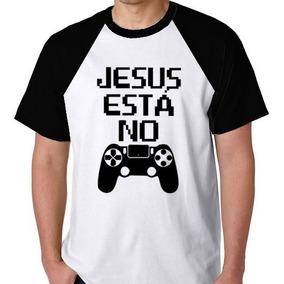 Jesus No Controle Camisa Camiseta Gospel Unissex S/frete