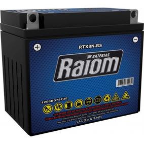 Bateria De Moto Raiom Rtx8n-bs 7ah 12v Selada
