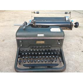 Rebajada Maquina De Escribir Antigua Halda Sueca P/restaurar