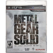 Metal Gear Solid: The Legacy Collection No Artbook - Ps3