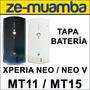 Tapa Batería Xperia Neo Mt15 Xperia Neo V Mt11 Tapa Trasera