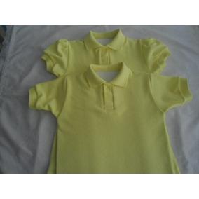 Chemise Escolares Amarilla Niña M Princ Y Niño Tallas 6 Y 8