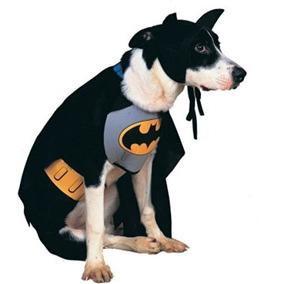 Disfraz Para Perro Traje De Batman - Grande