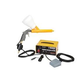Sistema Para Pintar Con Polvo Pintura Electrostatica 110v