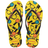 Feminino Slim Cool Amarelo Citrico 35/36 - Havaianas