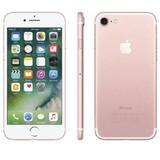 Iphone 7 Apple 32gb Ouro Rose Nacional Anatel Lacrado !!