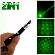 Laser Verde Puntero Con Destellos 9km