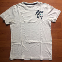 Playera Aeropostale Color Blanco Talla S